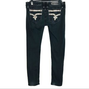 Rock Revival Black Sherry Skinny Jean